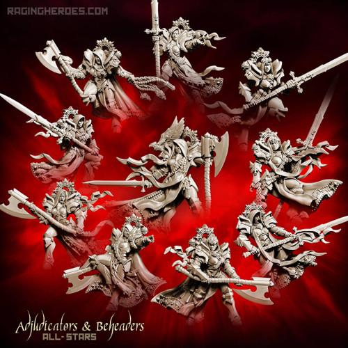 Adjudicators and Beheaders - All 10! (SoTO - F)