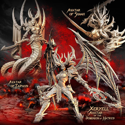 Avatars of Destruction Packs (Mix - F/SF)