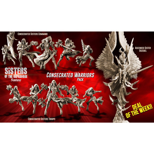 Consecrated WARRIORS Pack (SotO - F)