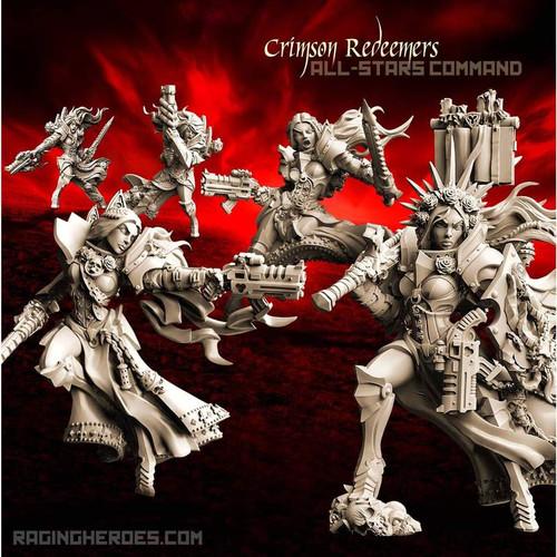 Crimson Redeemers All-Stars - COMMAND (SOEM – SF)