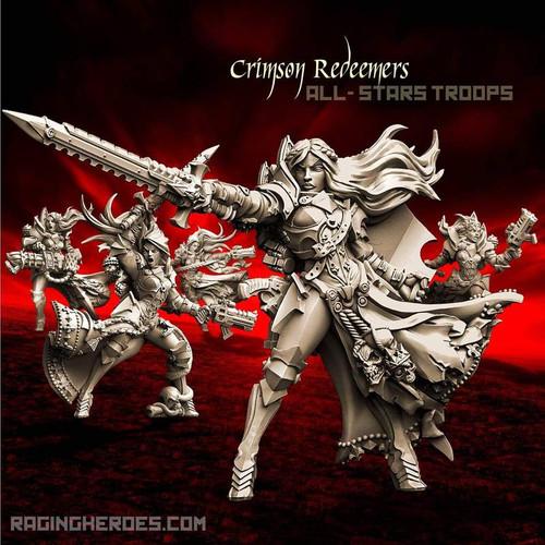 Crimson Redeemers All-Stars - TROOPS (SOEM – SF)