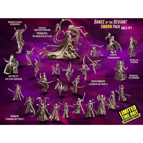 Dance of the Deviant SWARM (LE - Sci-Fi) (incl. Yscarloth)