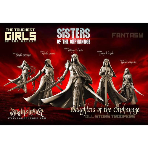 Daughters of the Orphanage - All Stars Troopers (Sisters - FANTASY)