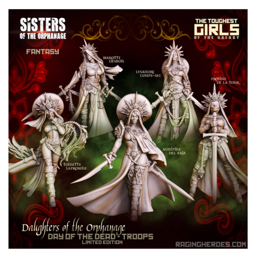 Daughters of the Orphanage - Day of the Dead Edition - Troop (SotO - F)