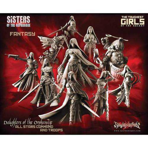 Daughters of the Orphanage Pack - All 10 Stars Command AND Troops (Sisters - FANTASY)