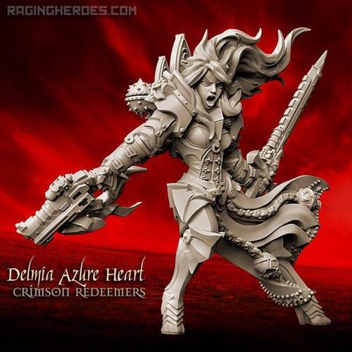 Delmia Azure Heart, CR CG (SoEM -SF)