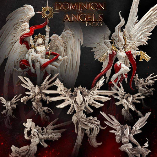 Dominion of Angels (Sisters - SF)