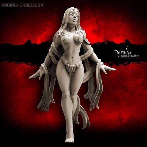 Doralys, Virgin Oracle (Sisters - F/SF)