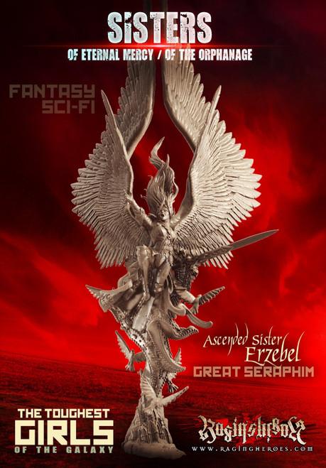 Erzebel, Ascended Sister, Great Seraphim (Sisters - F/SF)