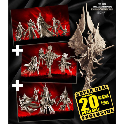 Exclusive Sisters SCI-FI multipack with Erzebel