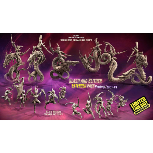 EXCLUSIVE Slash and Slither EXTENDED Pack (LE - FSF)