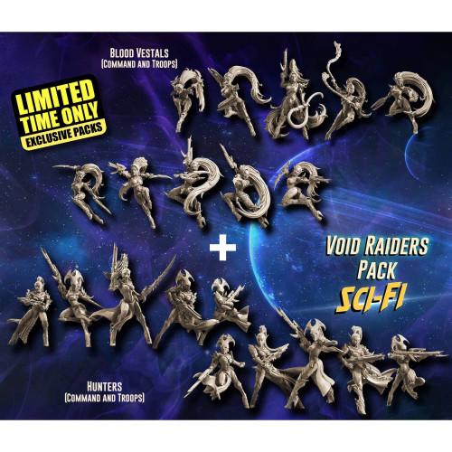 EXCLUSIVE Void Raiders Pack (VE - SF)