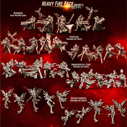 HEAVY Fire Packs (SoEM - SF)