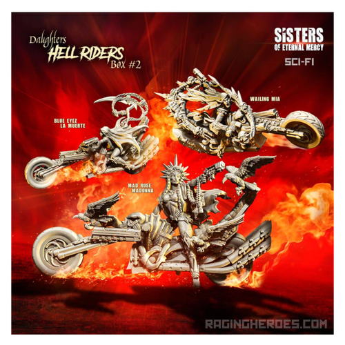Hell Riders Daughters Box BCM #2 (SoEM - SF)