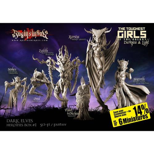 Heroines Box Dark Elves 1 (F/SF)