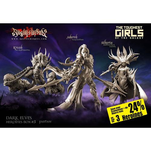 Heroines Box Dark Elves 3 (Fantasy)