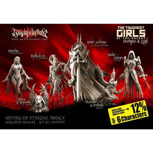 Heroines Box Sisters 1 (F/SF)