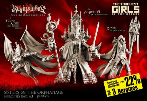 Heroines Box Sisters 3 (Fantasy)