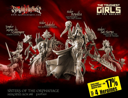 Heroines Box Sisters 4 (Fantasy)