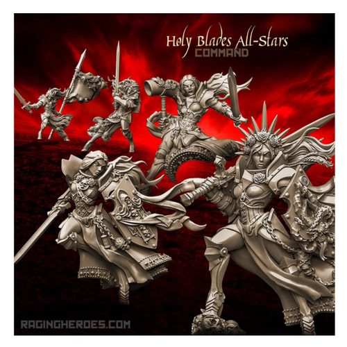 Holy Blades All-Stars - COMMAND Group (SotO - F)