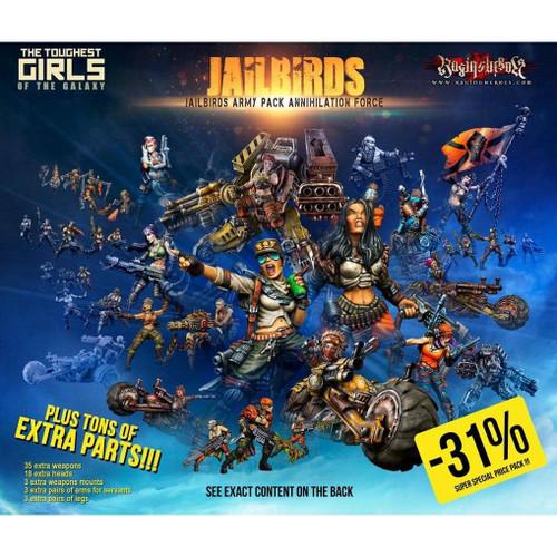 Jailbirds Army Pack ANNIHILATION Force (JB)
