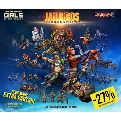 Jailbirds Army Pack STRIKE Force (JB)