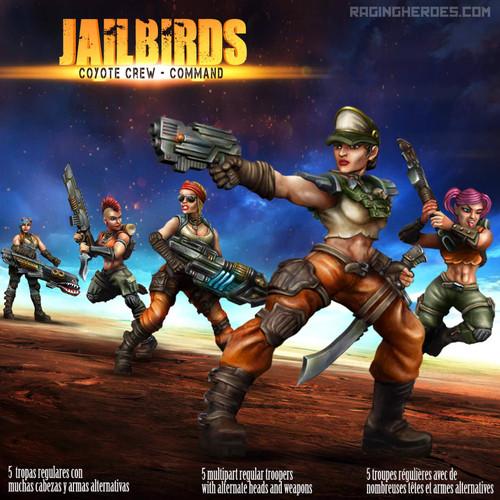 Jailbirds Coyote Crew Command