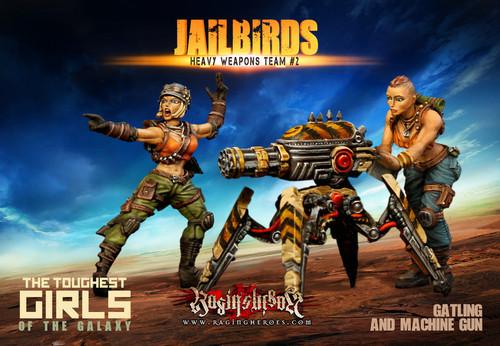 Jailbirds Heavy Weapons Team #01 (JB)