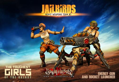 Jailbirds Heavy Weapons Team #03 (JB)