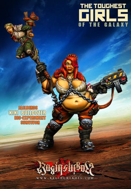 Kiki Bulldozer, Bio-Experiment Survivor (JB)
