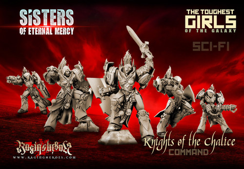 Knights of the Chalice - Command Group (SoEM - SF)
