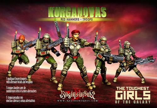 KST - Red Hammers - Troops