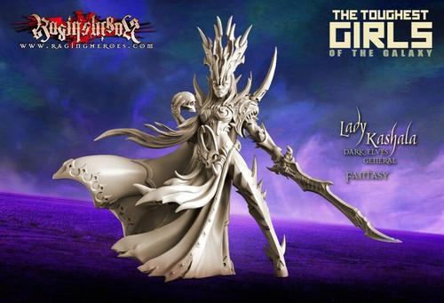 Lady Kashala, Dark Elf General (DE - Fantasy)
