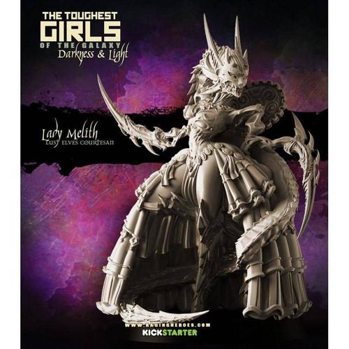 Lady Melith, Lust Elves Courtesan (LE - F/SF)