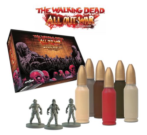 TWD The Walking Dead: Walker Paint Set