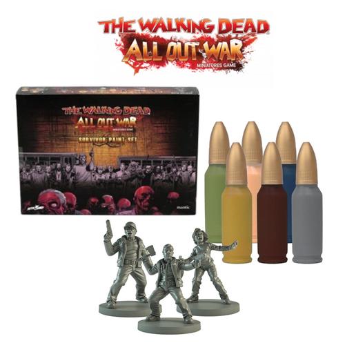 TWD Survivor Paint Set