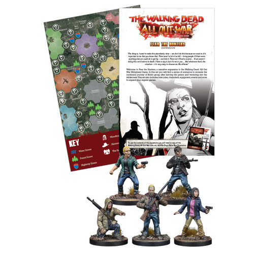 TWD Fear The Hunters - Expansion Set