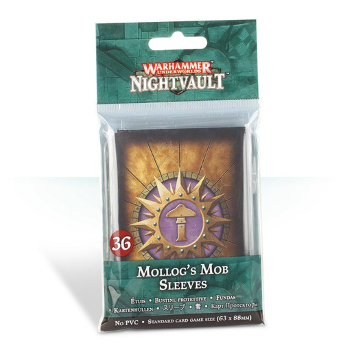 WH UNDERWORLDS MOLLOG'S MOB SLEEVES