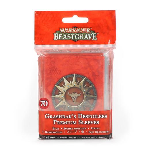WH UNDERWORLDS GRASHRAK'S DESPOILERS PREMIUM SLEEVES
