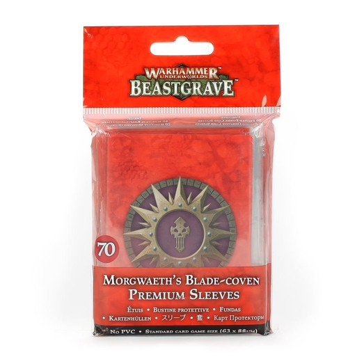 WH UNDERWORLDS MORGWAETH'S BLADE-COVEN CARDS SLEEVES