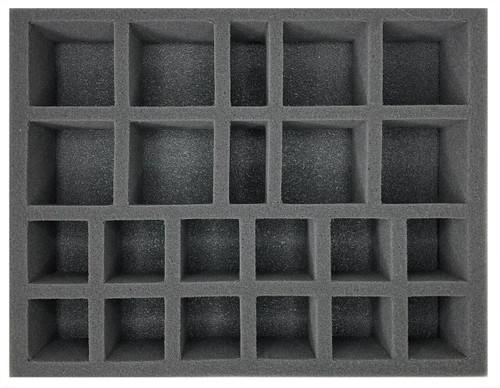(Warmachine/Hordes) 8 Medium Warjack 12 Medium Character Foam Tray (BFL-3)