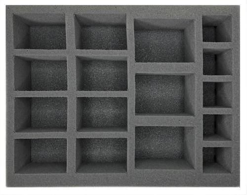 (Warmachine/Hordes) 8 Large Warjack 3 Extra Large Warjack Foam Tray (BFL-3.5)