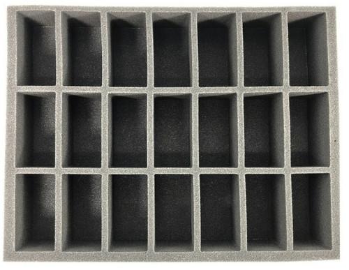 (Gen) 21 Generic Tall Model Foam Tray (BFL-3)