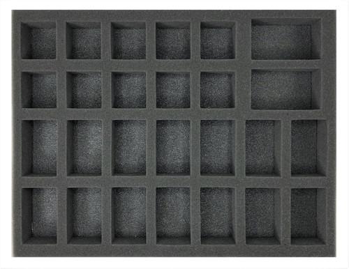 (Gen) 14 Large 10 Medium 2 X-Large Troop Foam Tray (BFL-2.5)