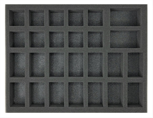 (Gen) 14 Large 10 Medium 2 X-Large Troop Foam Tray (BFL-2)