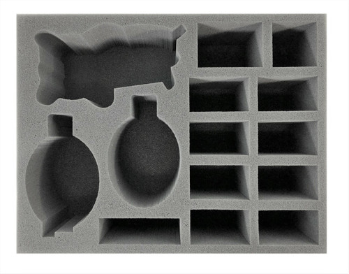 Age of Sigmar Ogor Mastribes Great Maspot and Heroes Foam Tray (BFL-4.5)