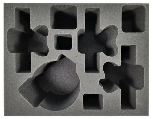 Age of Sigmar 1 Great Unclean 3 Pusgoyle Blightlord Foam Tray (BFL-6.5)