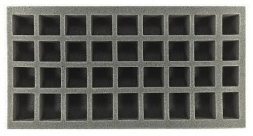 (Gen) 24 Small 8 Medium 4 X-Small Standing Model Foam Tray (BFM-2)