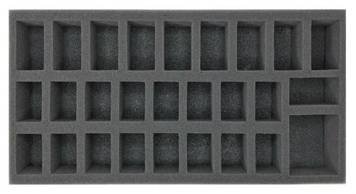 (Chaos Space Marine) Troop Foam Tray (BFM-2)