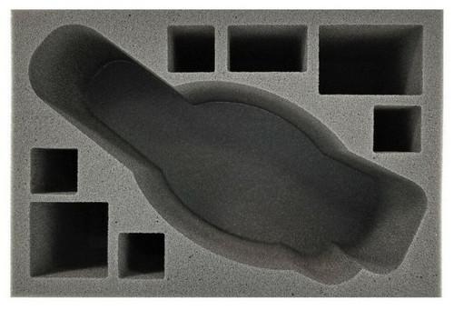 Nighthaunts Black Coach Foam Tray (BFS-5)
